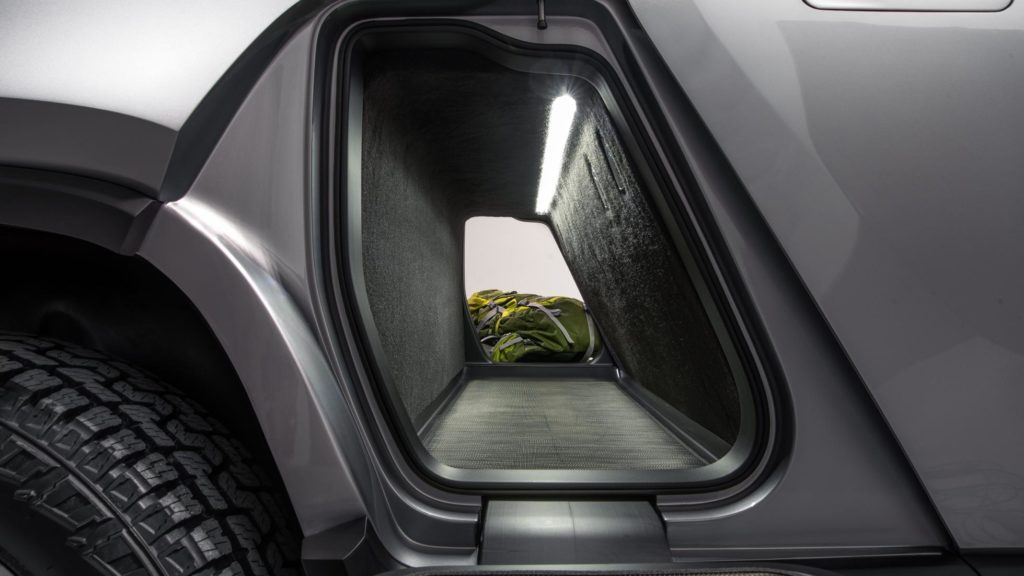 Rivian R1T Gear Tunnel