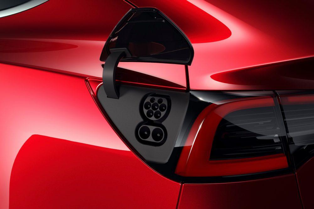 Tesla Model 3 CCS2 Charge Port for Europe