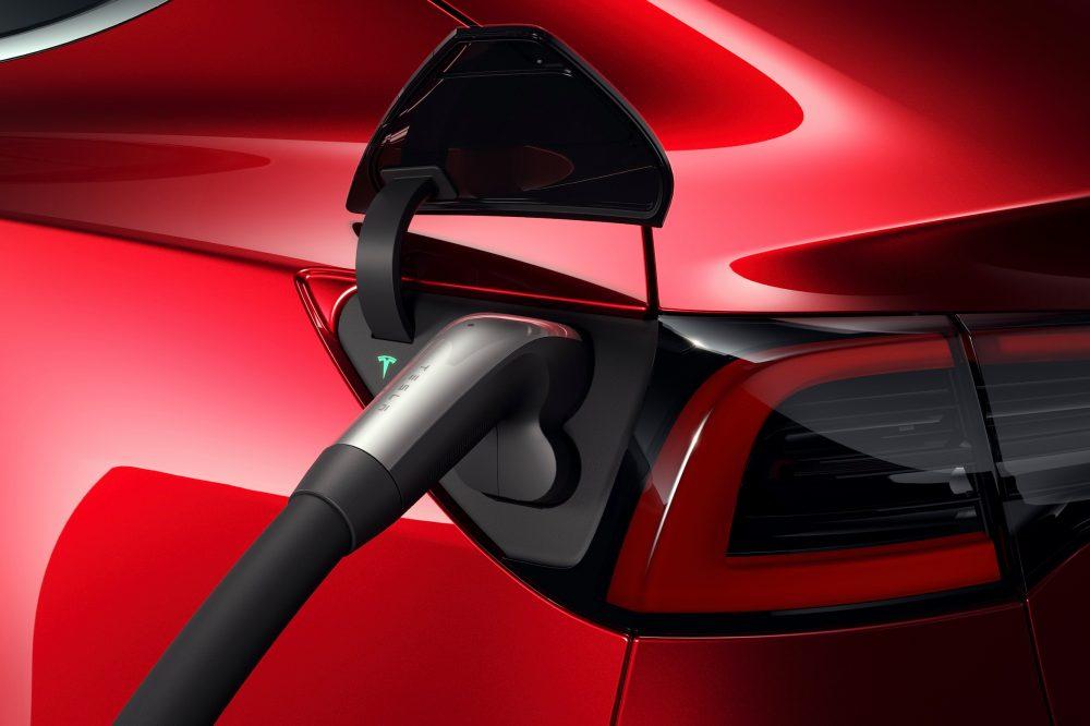 Tesla Model 3 CCS2 Charge Port Plug for Europe