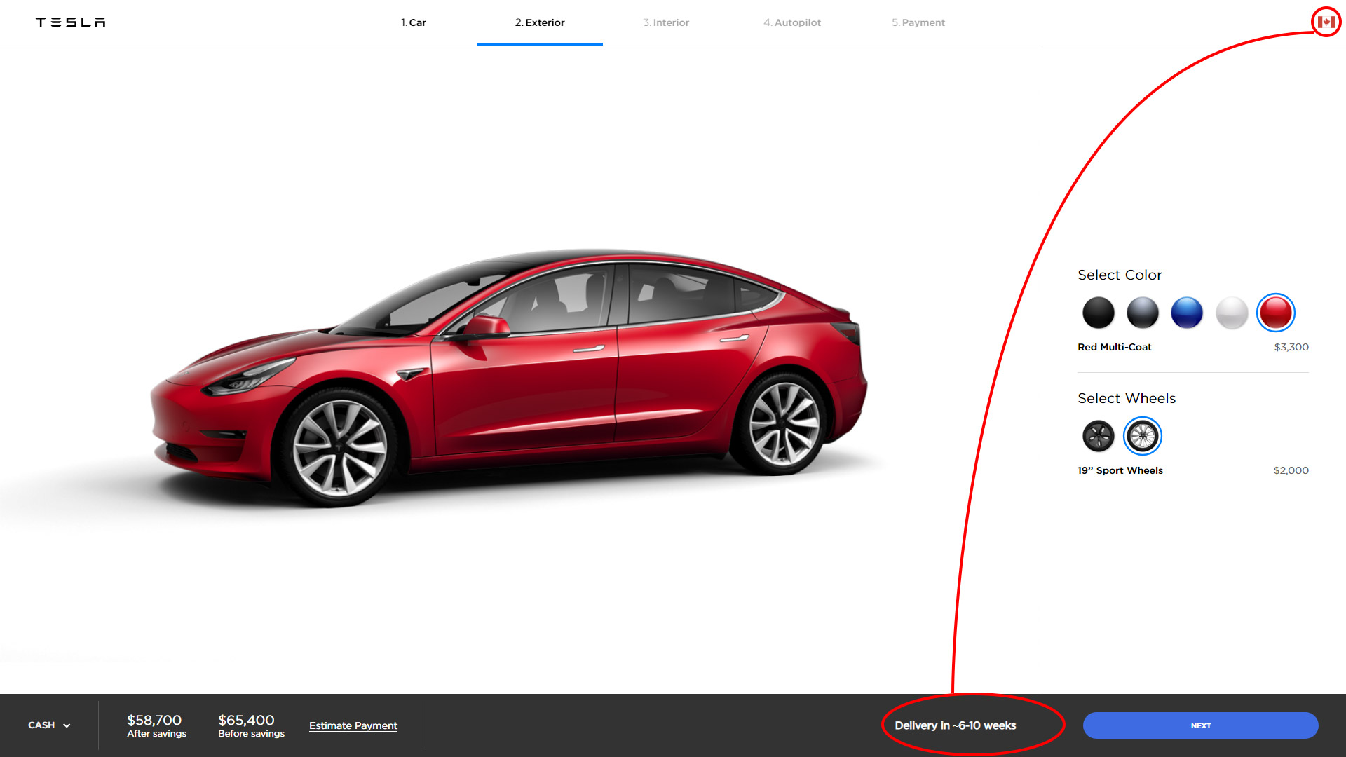 Tesla aims to deliver all Model 3 United States orders ...