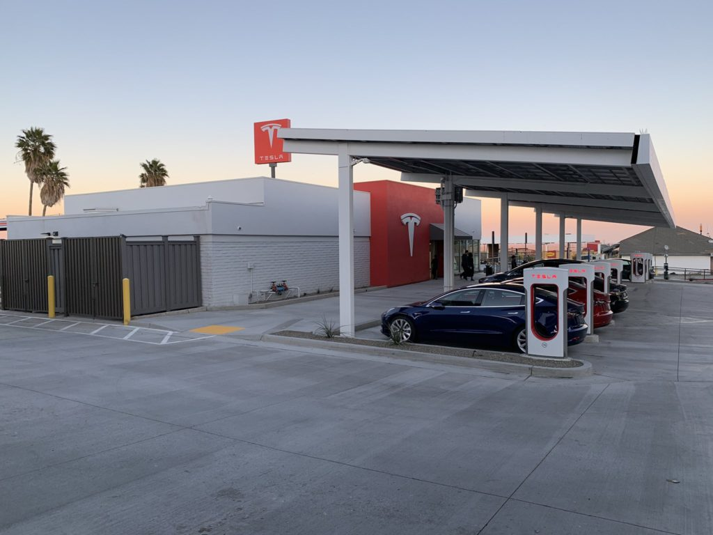 Kettleman City Supercharger Station California