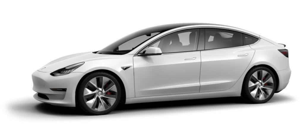 Tesla Model 3 Configurator China and Europe
