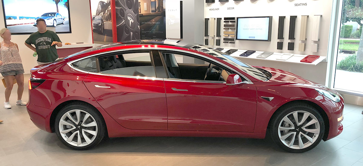 Tesla Model 3 Delivery Checklist