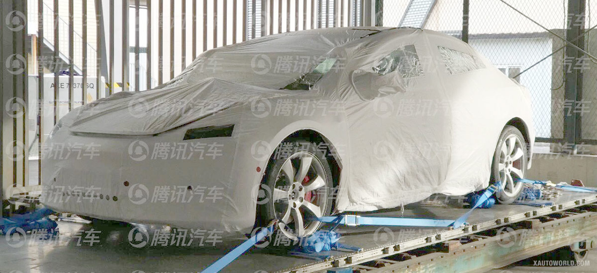 First Chinese Tesla Model 3 Performance spotted