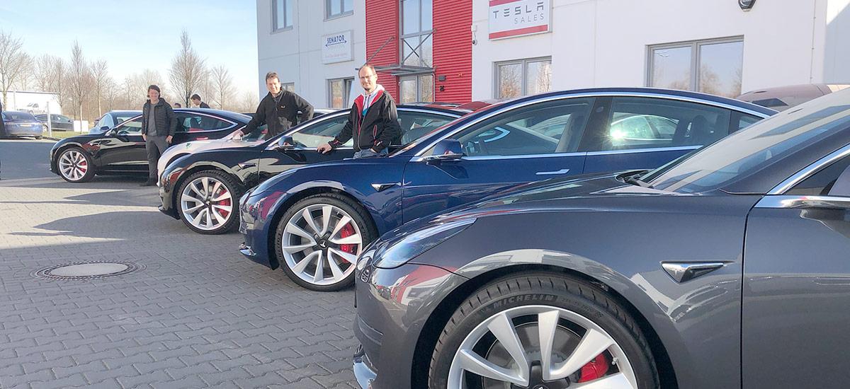 German car rental company 'nextmove' buys 100 Tesla Model 3 compact electric sedans