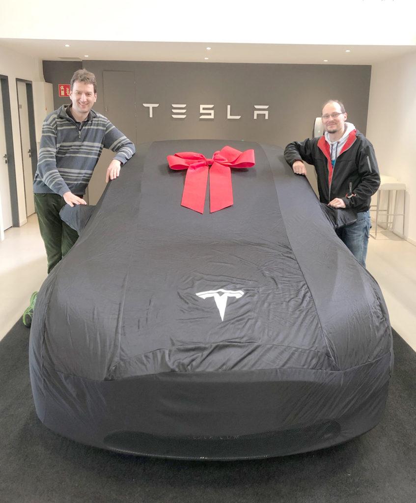 nextmove's first Tesla Model 3 Performance added to the rental fleet.