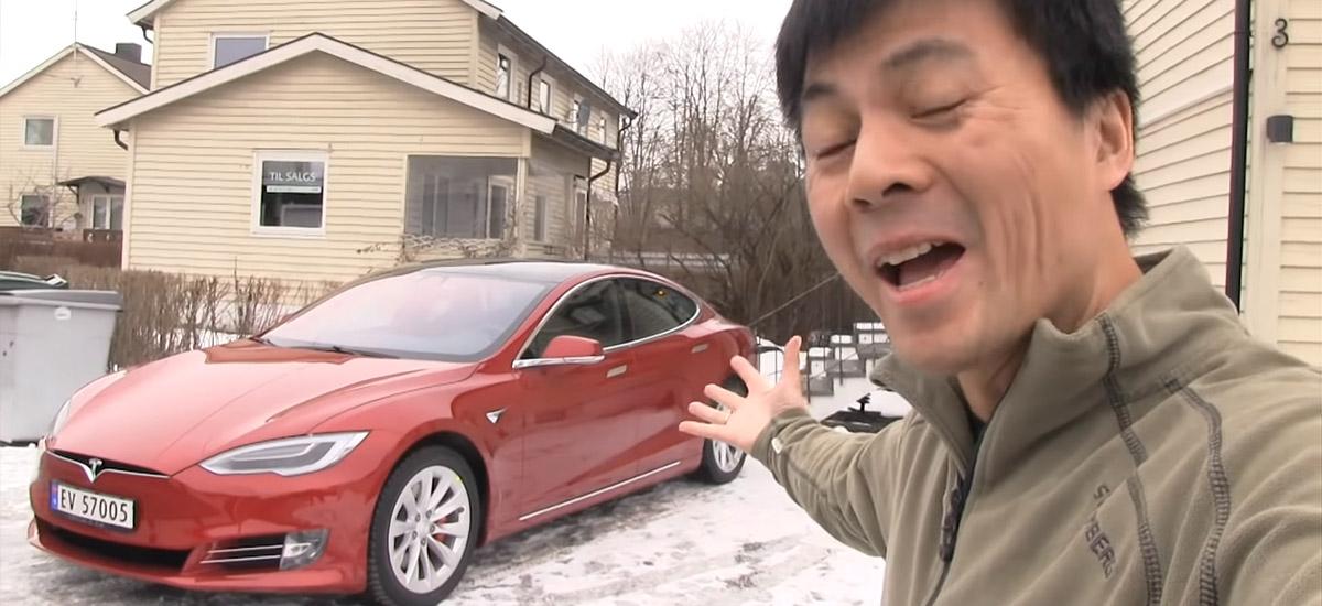 Bjørn Nyland's incredible story of winning 4 Tesla electric vehicles