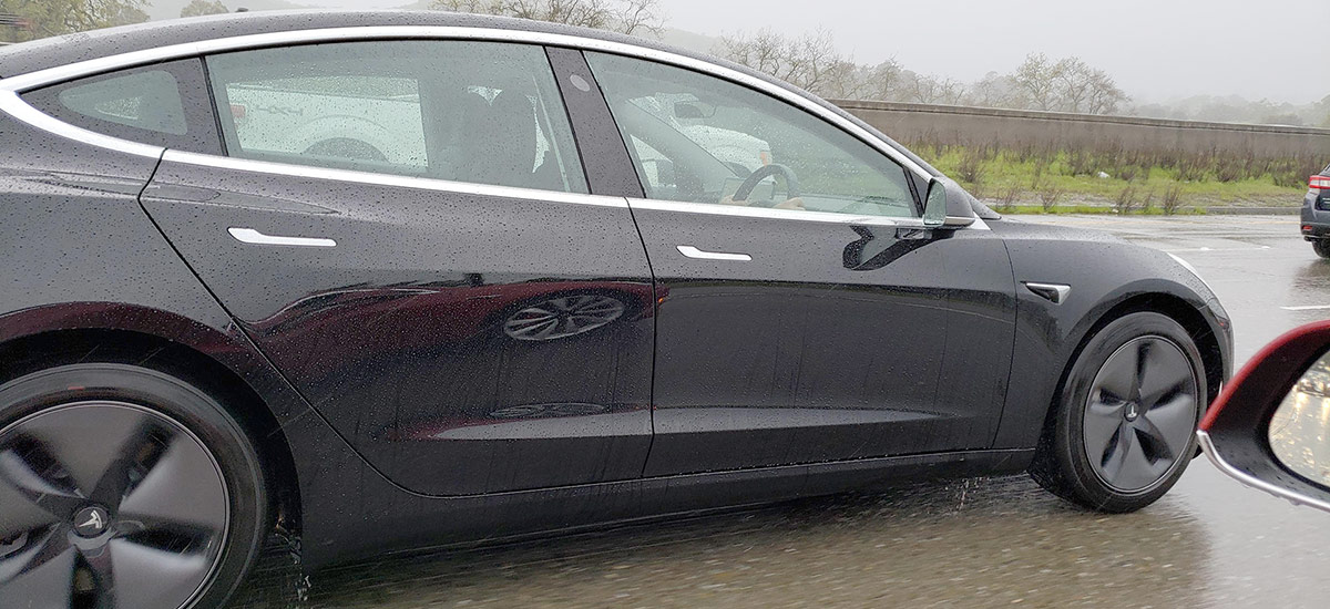 First Tesla Model 3 Right-Hand-Drive spotted in California