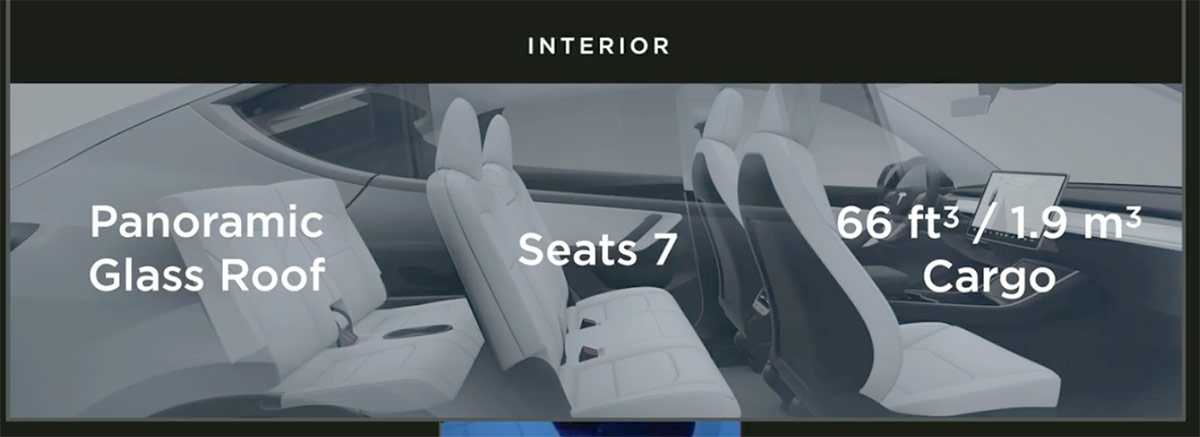 Tesla Model Y 7 seat configuration and interior first look