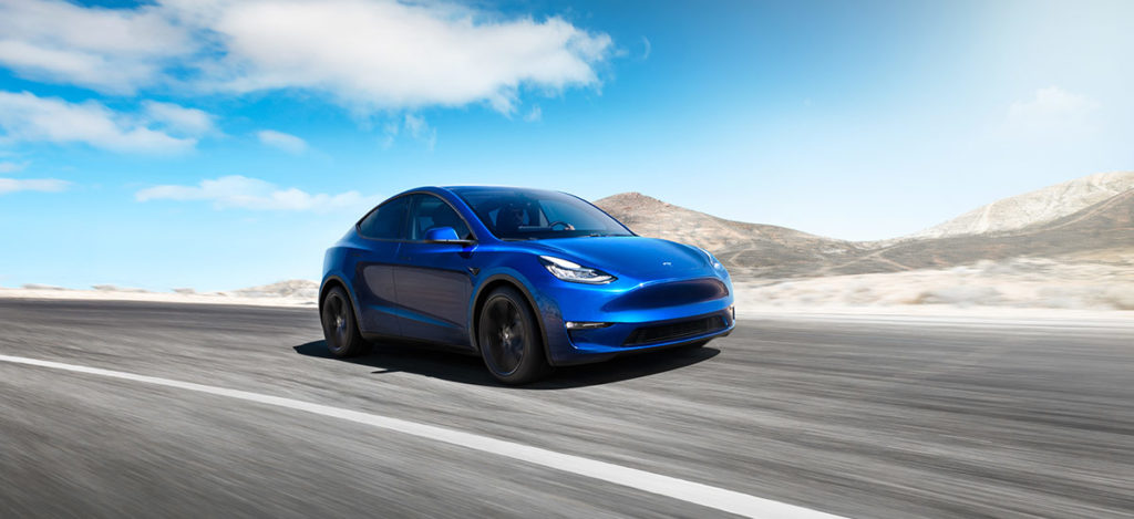 Tesla Model Y unveiled with 230 miles of range