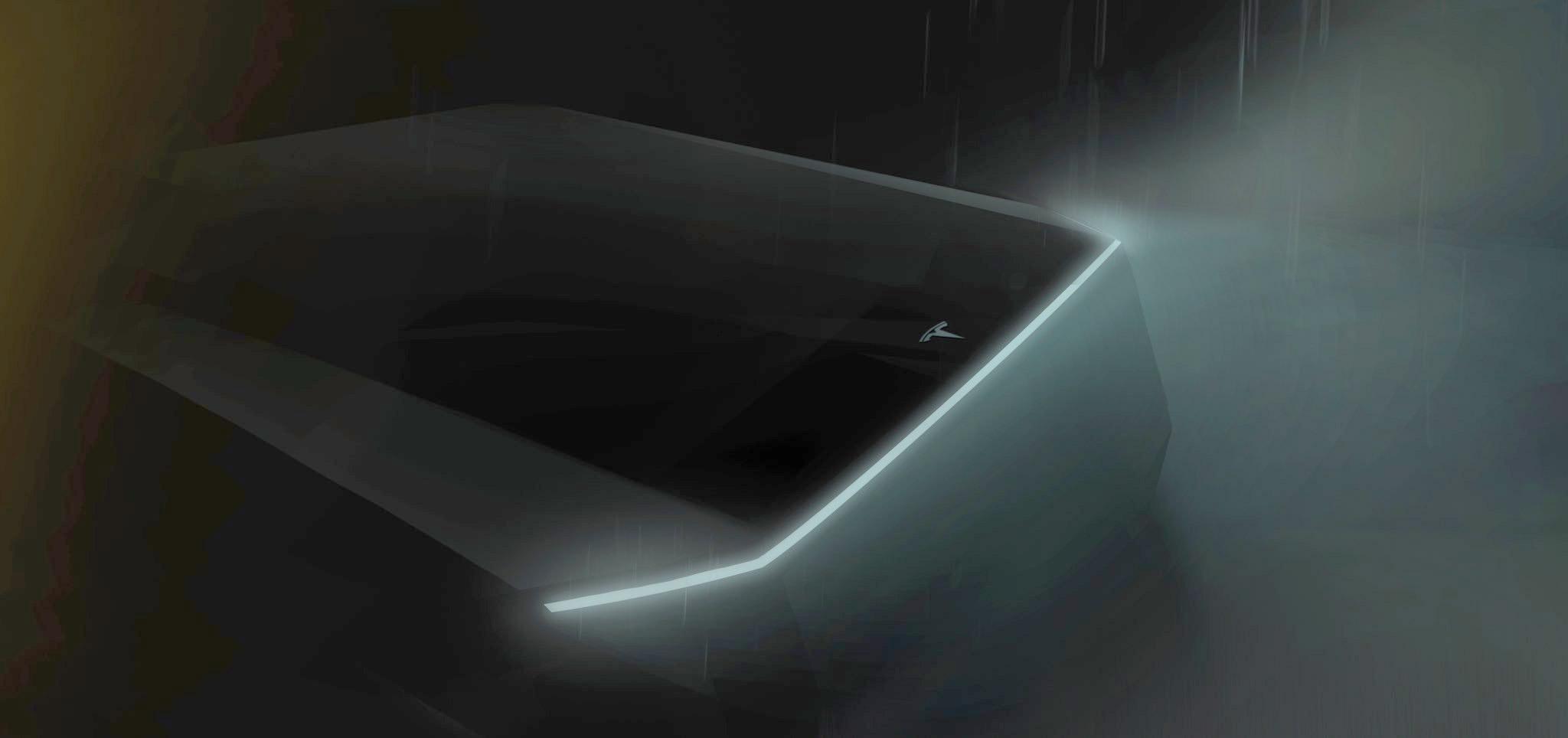 Tesla Pickup teaser by Elon Musk