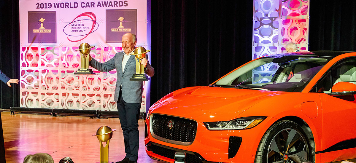 Jaguar I-Pace wins awards at the 2019 New York International Auto Show