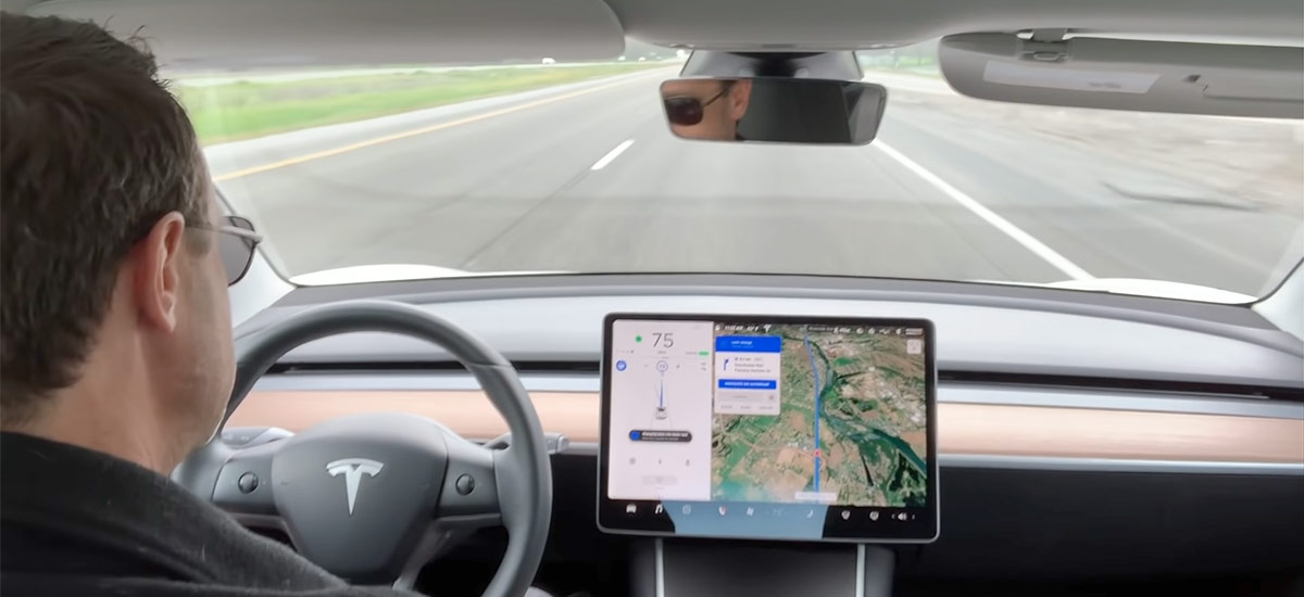 Navigate on Autopilot - Auto Lane Change without confirmation (2019.8.5)