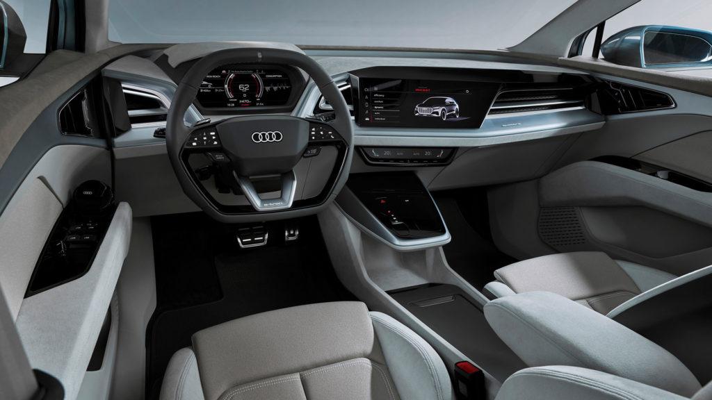 Audi Q4 e-tron cabin/interior