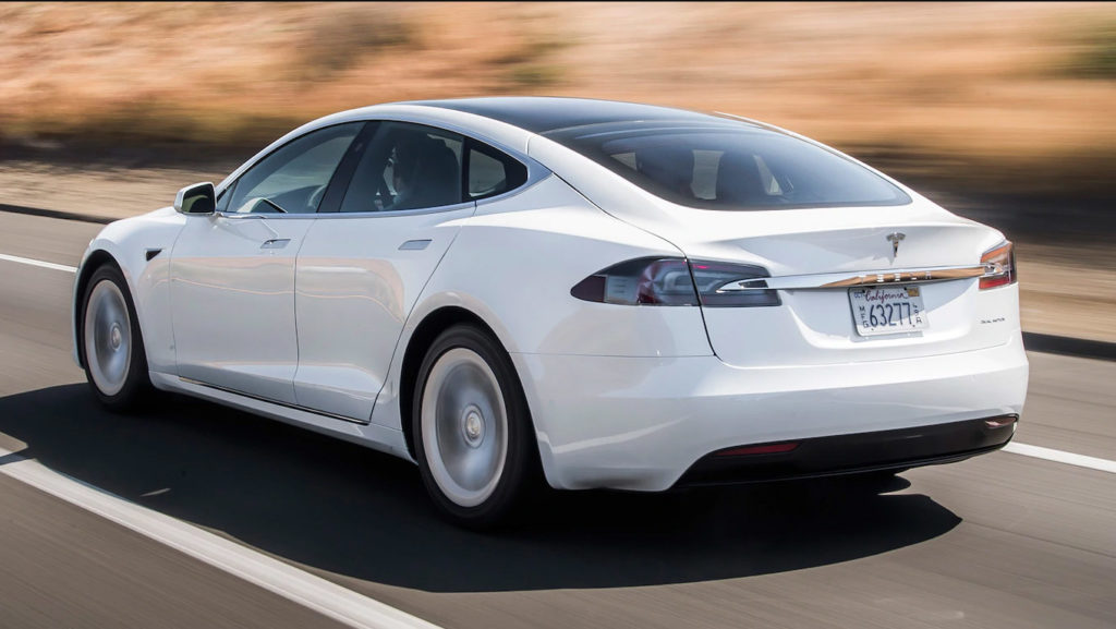 New Tesla Model S range test from San Francisco to Los Angeles.