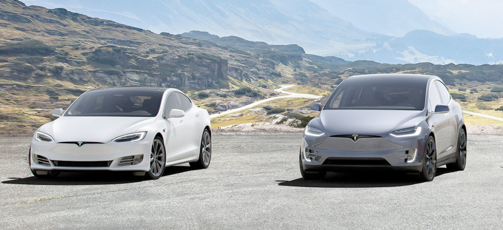Tesla Model S and Model X get extended range with drivetrain optimization