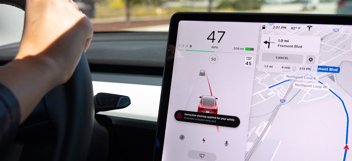 Tesla's latest lane keeping safety features rolled out