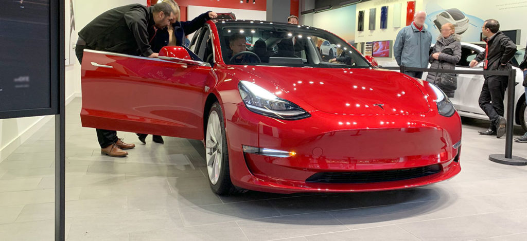 Right-Hand-Drive Tesla Model 3 orders now open