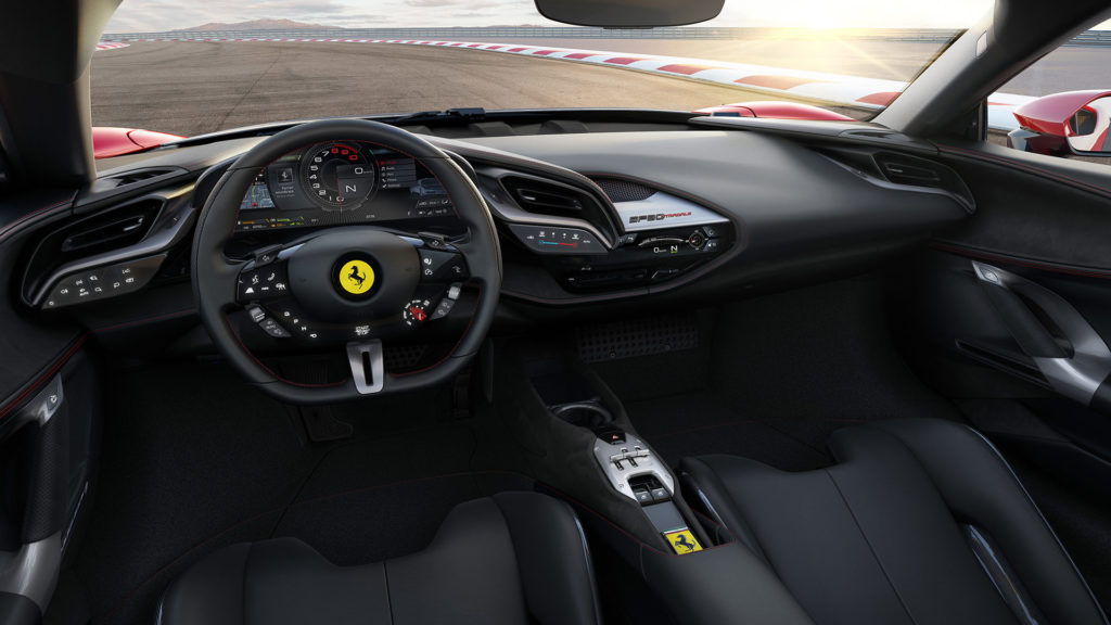 Ferrari SF90 Stradale - Steering Wheel