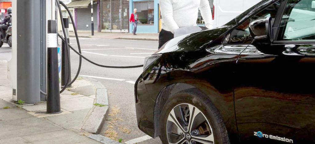 London plans to have more than 50,000 EV charging points by 2025