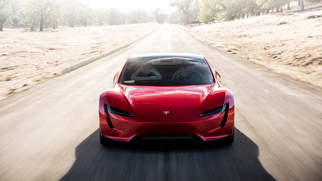 Next-generation Tesla Roadster - Front Profile