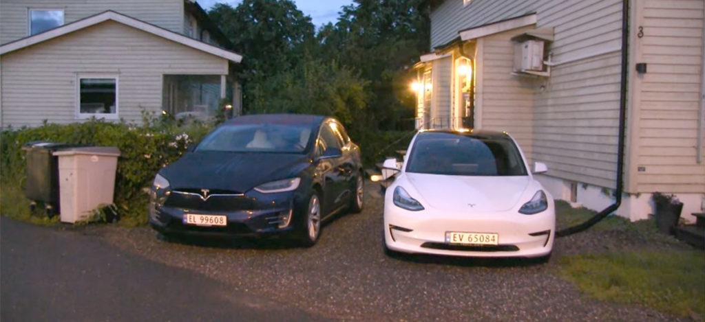 Tesla Model 3 vs. Tesla Model X HVAC efficiency test.