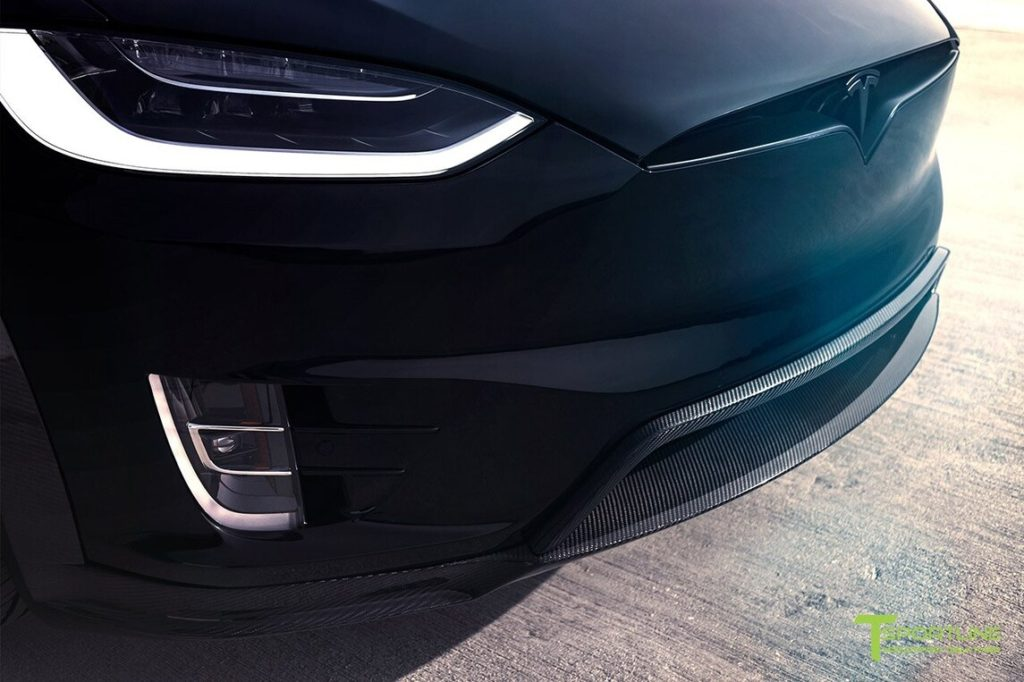 TSportline Black Tesla Model X - Headlight Closeup