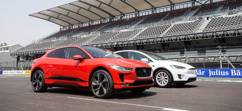 Jaguar trying to entice Tesla owners with a $3k rebate for buying an I-Pace