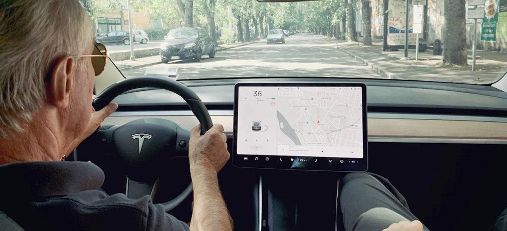 Legendary Ferrari chief test driver Dario Benuzzi tests and praises the Tesla Model 3.