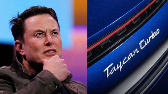 Elon Musk slams Porsche for using the term 'Turbo' for an electric car
