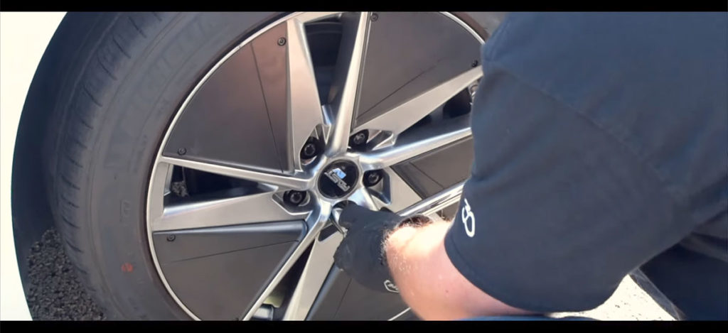 FAST EV01+ Wheel designed for efficiency for Tesla Model 3 and EVs, introduced by Ian Pavelko.