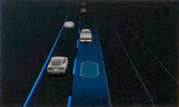 New Automatic Lane Change Visualizations.