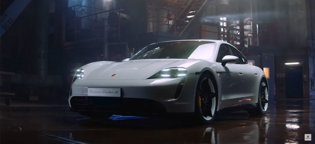 Porsche unveils the Taycan Performance Electric Car