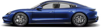 Porsche Taycan Turbo thumbnail image in blue