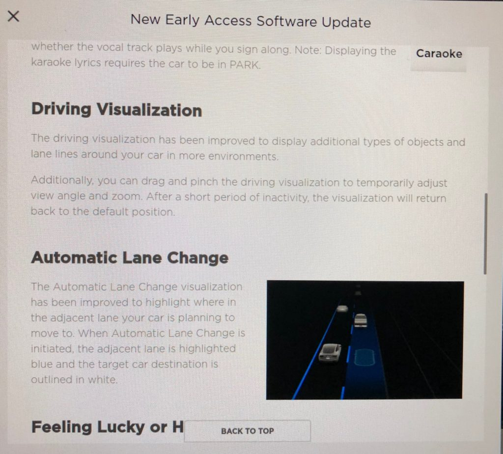Tesla V10 Early Access Program - Software Release Notes, Page 03.