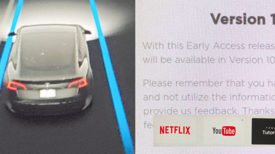 Tesla V10 Early Acces Program Software Release Notes and info.