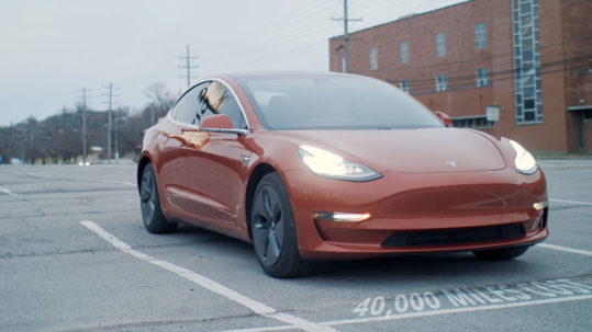 True cost of a Tesla Model 3 after 40,000 miles (64373 km).