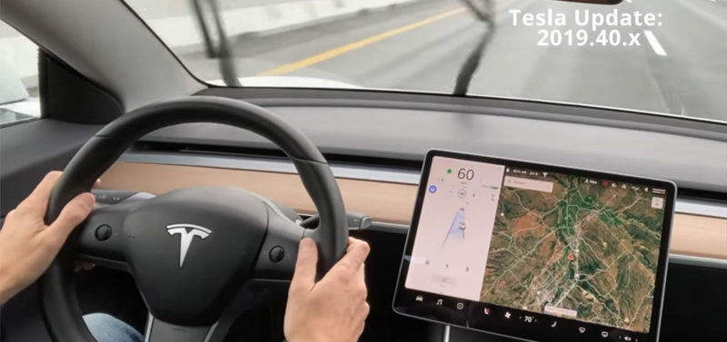 Tesla software update 2019.40.2.x release notes, video, and details.