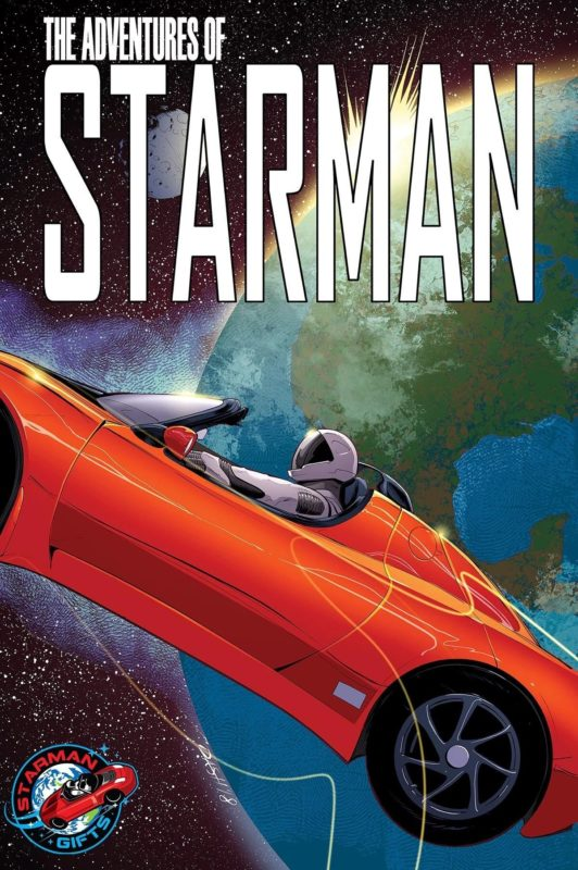 """The adventures of Starman"" poster."
