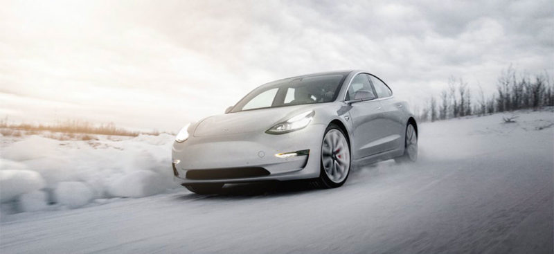 Tesla is bringing the Model 3 and Model S to Storsjön Lake in northern Sweden for the 2020 winter driving experience.