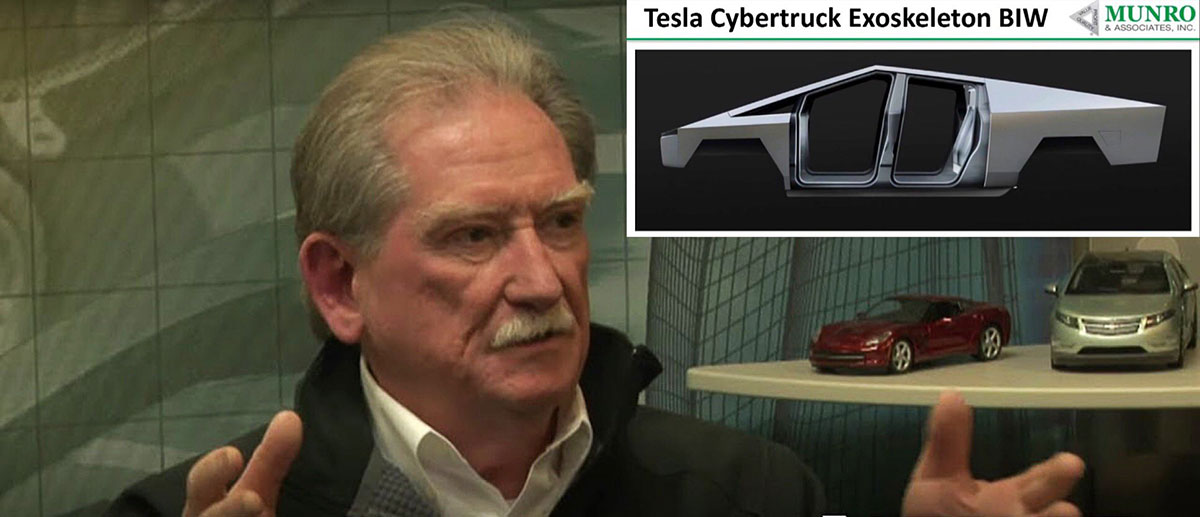 Cybertruck production CapEx only at 15-20% compared to F-150, Sandy Munro estimates