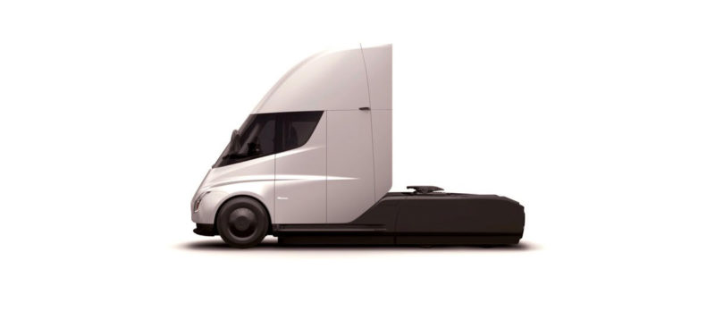 Tesla Semi Truck as seen on the order confirmation page.