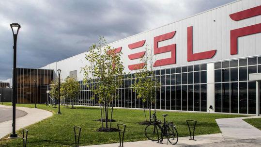 Tesla Gigafactory 2 in Buffalo, NY.