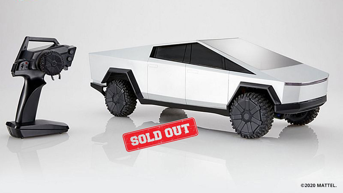 Mattel Hot Wheels remote-controlled Cybertruck is already sold out.