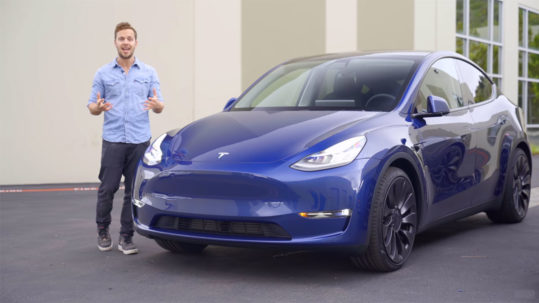 Tesla Model Y detailed review.