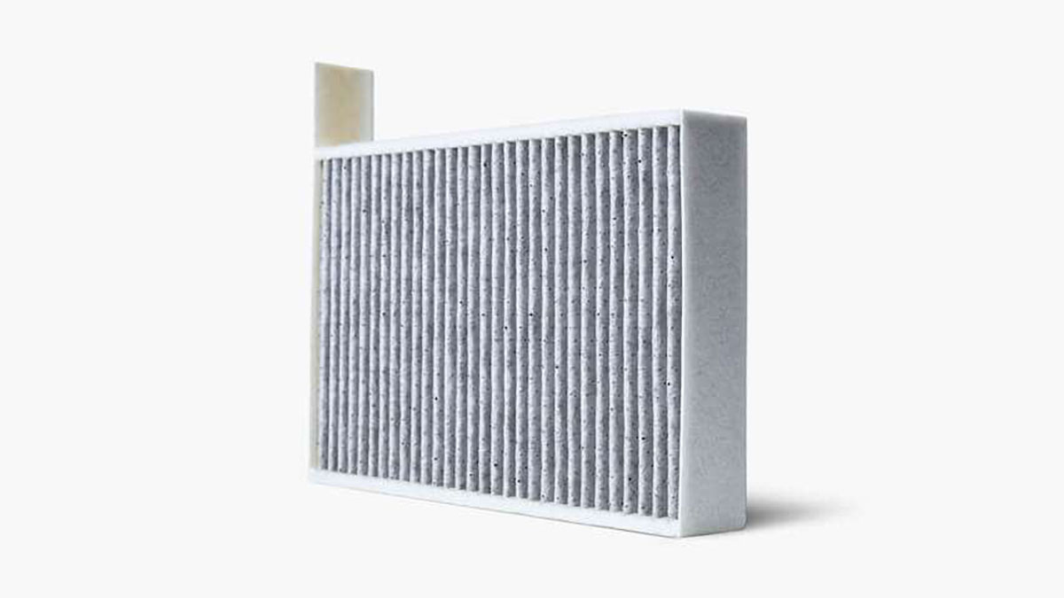 OEM Tesla Model 3 air filter now available from the Tesla online store.