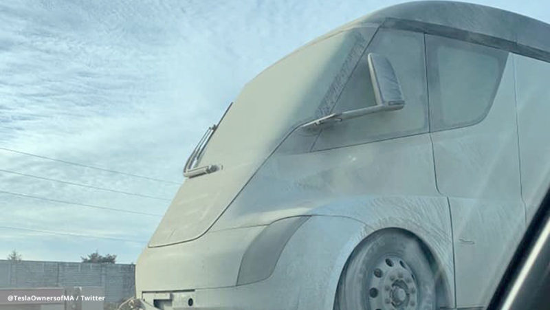 Tesla Semi Truck returns home after rigorous cold weather testing in Canada.