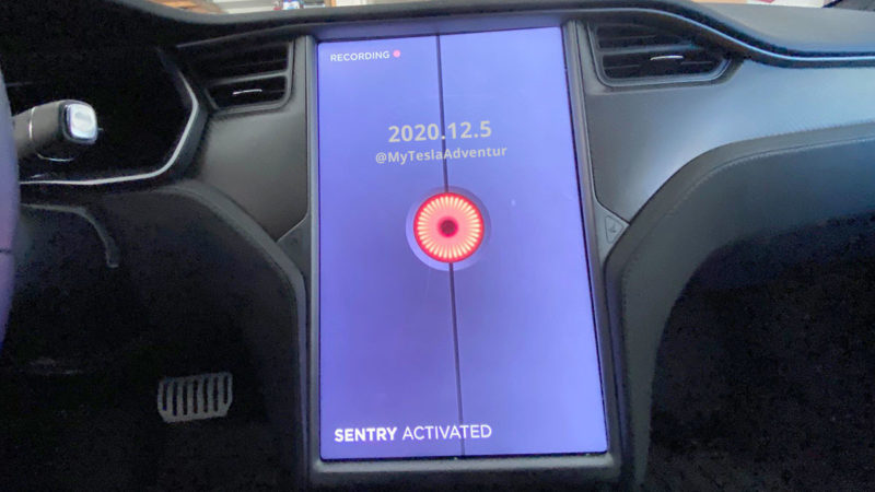 Tesla Sentry Mode, Dashcam Viewer, and more in 2020.12.5 Tesla software update video.