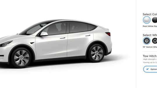 Tesla Model Y Tow Hitch option now available.