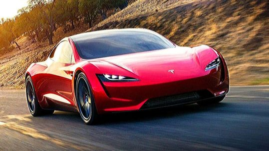 Next-gen Tesla Roadster